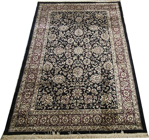 NAZ CARPET INDUSTRIES KASHMIRI SILKI PERSIAN DESIGN HIGH QUALITY BRANDED CARPET For Your Living Room 120x180cm 4 Feet by 6 Feet