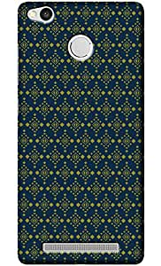 Fashionury Designer Back Cover for Redmi 3s Prime