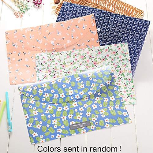 Carpeta de billeteras de plástico A4 | Bolsillo de carpetas de sobre...