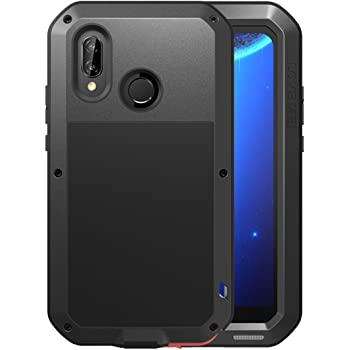 on sale 0c1e4 90403 Huawei P20 Lite Waterproof Case, Love Mei Military Shockproof  Dust/Dirt/Snow Proof Aluminum Metal Protective Case Cover for Huawei P20  Lite/Nova 3e ...