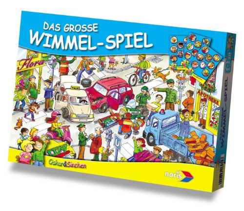 Noris 606016915 - Oscar und Sinchen: Das grosse Wimmel-Spiel