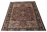 A RAHMAN CARPET MOST PREFER PARSION DESINE 0.5 MM COLOR MAROON BLACK  5 x 7  available at Amazon for Rs.6249