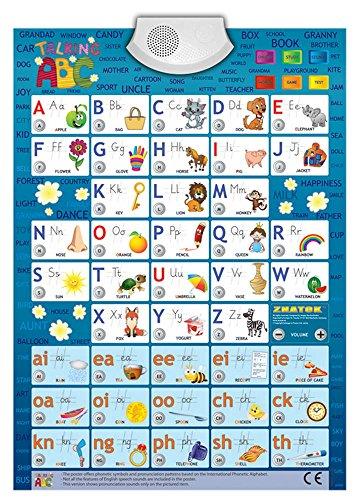 Audio-Plakat Sprechendes ABC Englisch / Lernspielplakat / Game Poster (Elektronische Plakate)