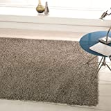 Nordic Silver Cariboo Shag Rug Rug Size: 230cm x 160cm (7 ft 6.5 in x 5 ft 3 in)