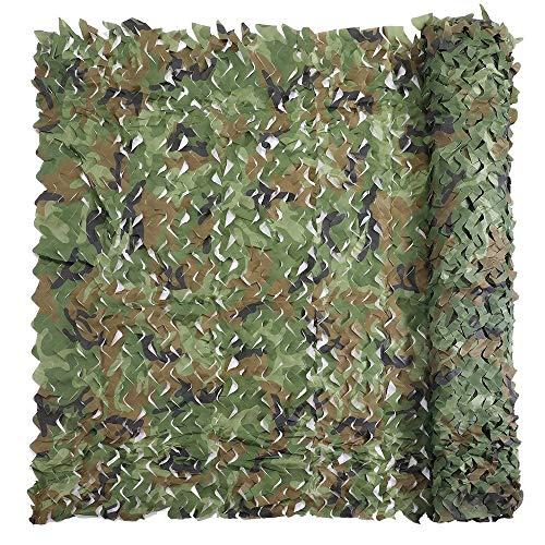 mX3m Green Military Nets Leichtes Robustes Gitter for Sonnenschutzdekoration Jagd Blind Shooting Für militärische Enthusiasten (Color : 3mX3m) ()