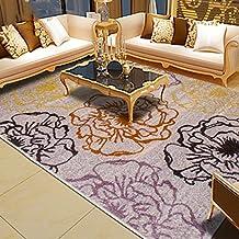 El engrosamiento del rectángulo minimalista lavable alfombras para sala de estar, café, Mesa, dormitorio 80cm x 150cm / 120cm x 170cm Alfombra ( Tamaño : 80*150 CM )