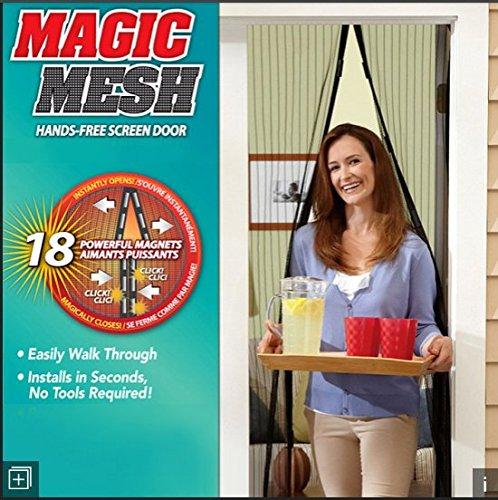 As seen on tv - mm011124 - tenda per porte magnetico, zanzariera