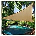 Prom-near Premium Sonnensegel Dreieck Wasserfest Sonnensegel Garten Terrasse Pool Schatten Segel von Prom-near - Gartenmöbel von Du und Dein Garten