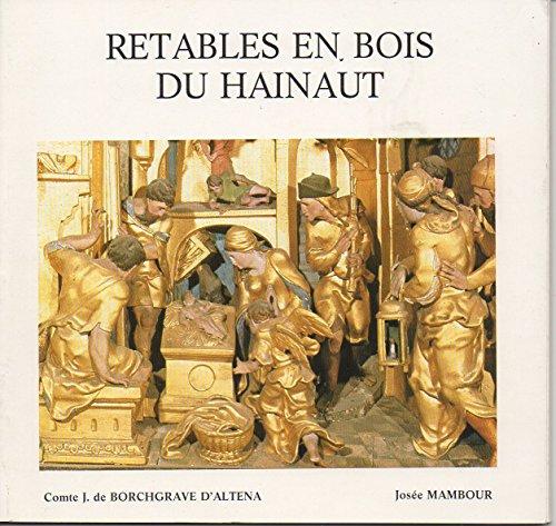 Retables en bois du hainaut - imprimerie provinciale du hainaut charleroi 1968