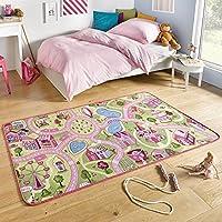 Tappeto da gioco tappeto per bambini Swee ttown rosa | 102378, rosa, 140x200