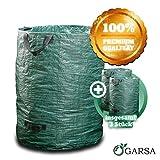 GARSA Gartenabfallsack Set 3 x 300 Liter - 3x PREMIUM