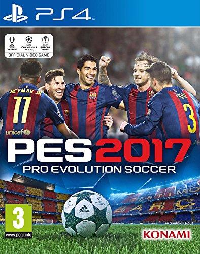 Pes 2017: Pro Evolution Soccer [importación Francesa] [playstation 4]