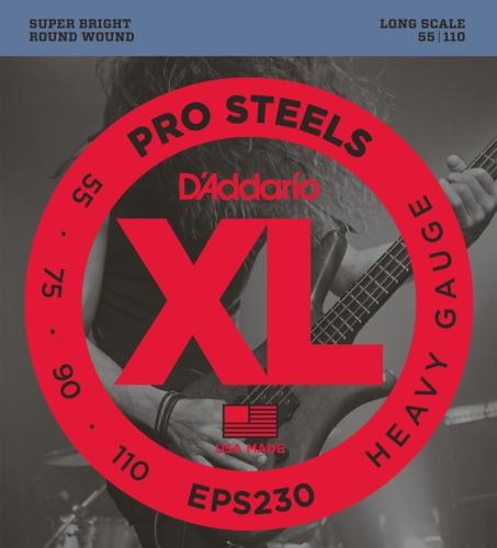 D'Addario EPS230 Set Corde Basso Prosteel