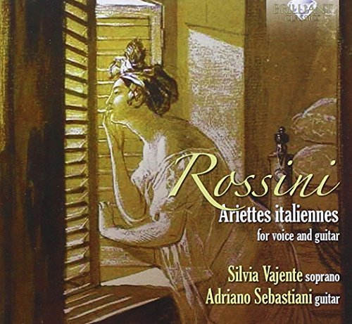 Rossini; Carulli: Ariettes Italiannes For Voice And Guitar by Silvia Vajente (2014-12-19)