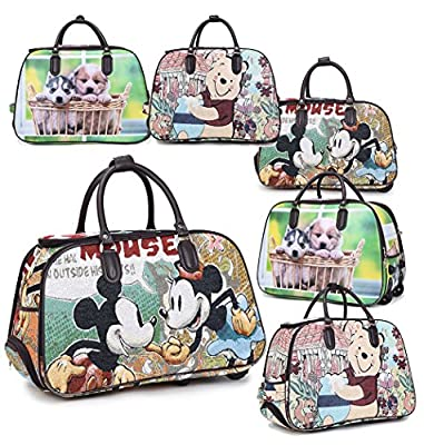 Haute for Diva Holdall 55 Centimeters 2 Wheels Printed
