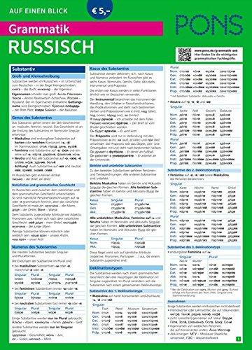 Download Pons Grammatik Auf Einen Blick Russisch Pons Auf