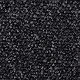 Teppichboden Auslegware | Schlinge Büro | 400 und 500 cm Breite | anthrazit schwarz | Meterware, verschiedene Größen | Größe: 1,5 x 4m