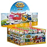 Dulcop - Super Wings Set di 36 tubetti di Bolle di Sapone, 103674000, 60 ml