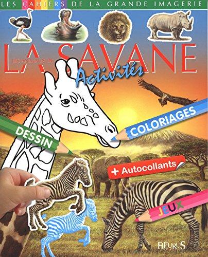 Les animaux de la savane : Activits