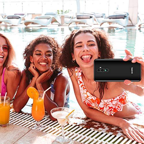 GOODTEL C50 Smartphone Pas Cher 4G Ecran 6.3 Pouces Android 8.1 Oreo,2 Nano SIM + 1 MicroSD Téléphone Portable Débloqué, Octa-Core 2Go + 32Go, Batterie 4180mAh - Noir