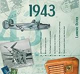 1943 Geburtstag Geschenken - 1943 Chart Hits CD und 1943 Geburtstagskarte