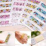 Beautyrain 5pcs Curitas Universal Impermeable encantador clasificado Dibujos animados Curitas vendajes adhesivos Decorativo