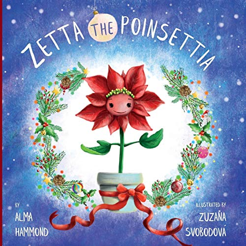 Zetta the Poinsettia por Alma Hammond