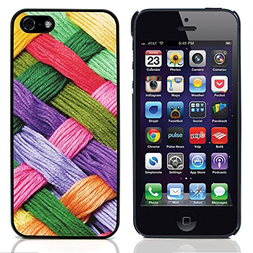 Graphic4You RED STRIPES Muster Harte Hülle Case Tasche Schutzhülle für Apple iPhone 5 und 5S Design #10