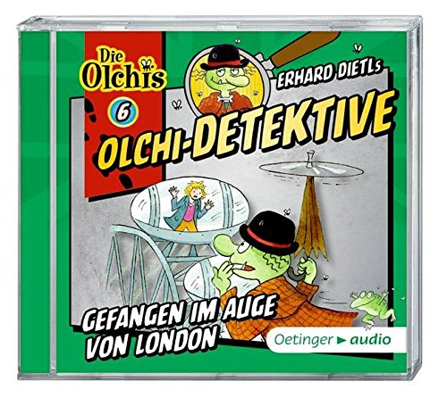 Olchi-Detektive 6  Gefangen im Auge von London(CD): Hörspiel, ca. 60 min.