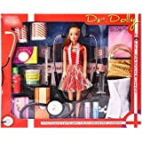 Watermelon Doctor Doll Set Pretend Play With Basic Medical Tools For Kids Girls.(Multicolor)