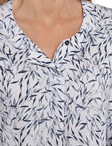 Schiesser, Camicia da Notte Donna Grau (Silber 206)