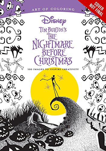 art-of-coloring-tim-burtons-the-nightmare-before-christmas-100-images-to-inspire-creativity