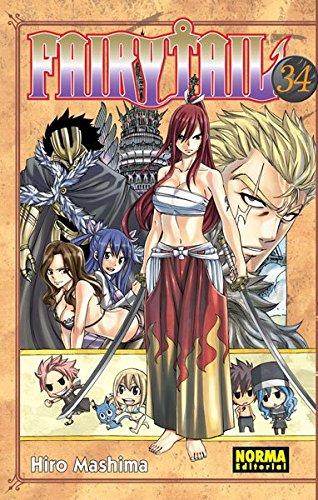 Fairy Tail 34 (CÓMIC MANGA) por Hiro Mashima