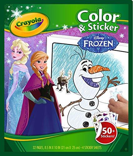 Crayola - 04-5864-E-000 - Album de Coloriage/D'Autocollants La Reine Des Neiges