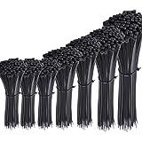 """Austor 700 Pièce Colliers Nylon de Serrage de Noir, Longueurs 4""""/ 6""""/ 8""""/ 10""""/ 12"""""""