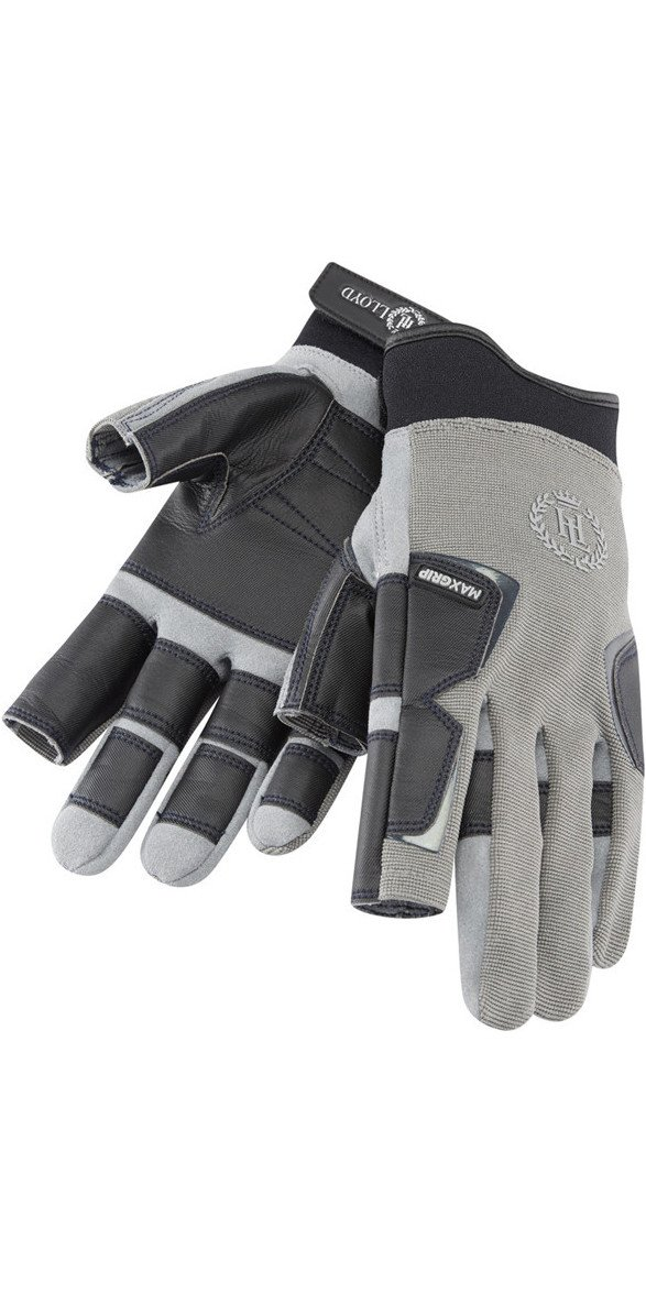 61n4b5LZhXL - Henri Lloyd Pro Grip Long Finger Gloves Titanium - Adults Unisex - MAXGRIP Palm Kayak or Kayaking - Material