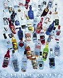 Laminiert Chill Out Vodka Party 50,8x 40,6cm (50x 40cm) Mini Poster