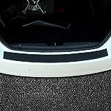 Protector del paragolpes trasero del coche, Protector del alféizar de la puerta flexible de goma universal Para ajustes en la mayoría de los autos(35.8 pulgadas)