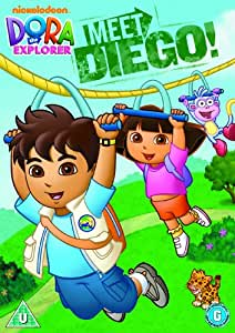Dora The Explorer Meet Diego Dvd Amazon Co Uk Dora