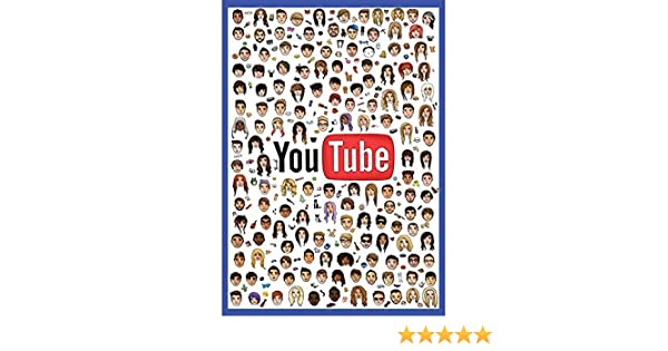 Youtubers Poster Perfect bedroom poster for Vloggers New Updated Large A1 Sugg