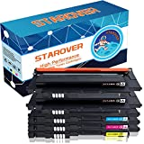 STAROVER 5x Kompatibel Tonerkartuschen Ersatz für CLT-P406C / CLT-406S (CLT-K406S CLT-C406S CLT-M406S CLT-Y406S) Toner Passend für Samsung CLX-3300 CLX-3305 CLX-3305W CLX-3305N CLX-3305FW CLX-3305FN CLP-360 CLP-365 CLP-365W Xpress C410W C460FW C460W (2Schwarz, 1Cyan, 1Magenta, 1Gelb)