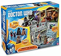 Doctor who into the dalek time zone figure collection set with new clara figure by character
