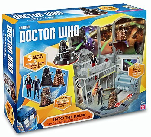 Doctor who into the dalek time zone figure collection set with new clara figure by character, Figurines & gadgets