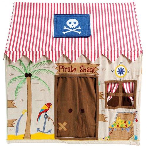Win Grün 5060299351363Große Piraten Shack Playhouse (Die Schatztruhe Juwelen)