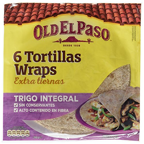 Old El Paso - 6 Tortillas De Trigo Integrales - 350