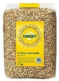 Davert Sechskorn-Getreidemischung, 4er Pack (4 x 1 kg) - Bio