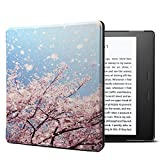 A-BEAUTY-IN Case for Kindle Oasis (9th Generation, 2017 Release ONLY), Slim Lightweight PU