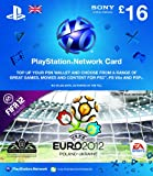Sony PlayStation Network +â-»+é-++é-¢16 Points Card - FIFA 12: UEFA Euro 2012 Design on PlayStation 3