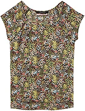 Scotch & Soda Short Sleeve Top with Special Stitch Detail, Blusa Para Mujer
