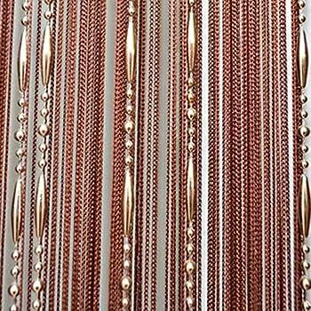 Bead Curtain String Line Curtains Decorative Door Beads Rare Flat